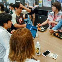 事業に向けて外国人留学生へのインタビュー②